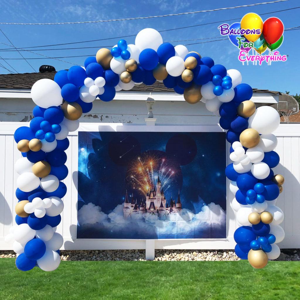 Balloon Arch 8x8 Organic