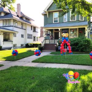 Balloon Decorations, Yard Balloon Decor, Topiaries