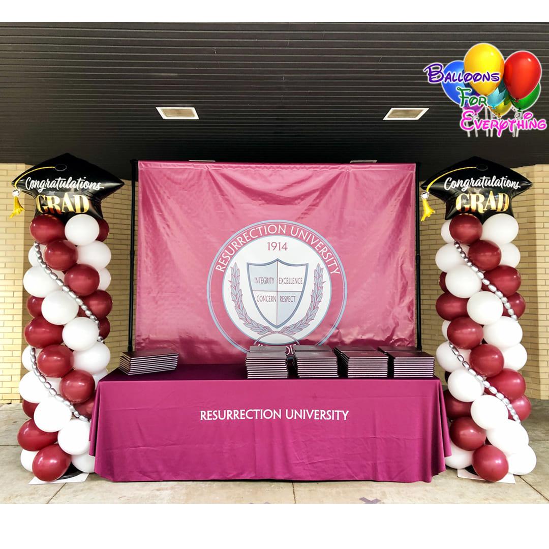 University Balloon Decor