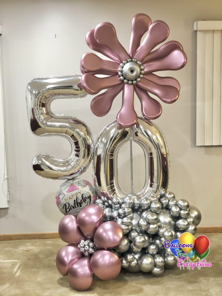Flower Fantasy Balloon Bouquet