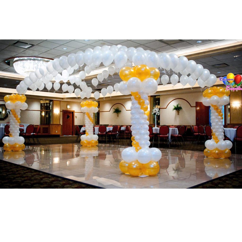 Canopy Balloon Dance Floor