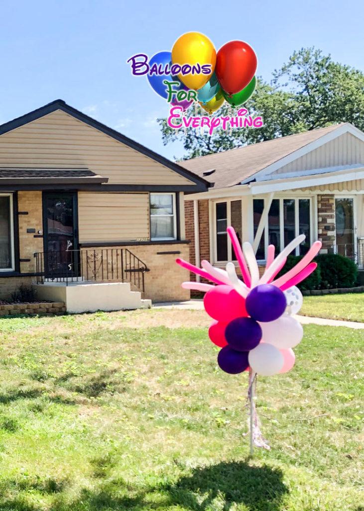 Balloon Decorations, Yard Balloon Decor, Whip-it Stick