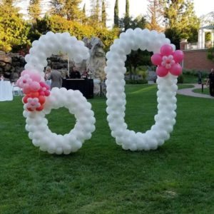 Numbers & Letter Balloons