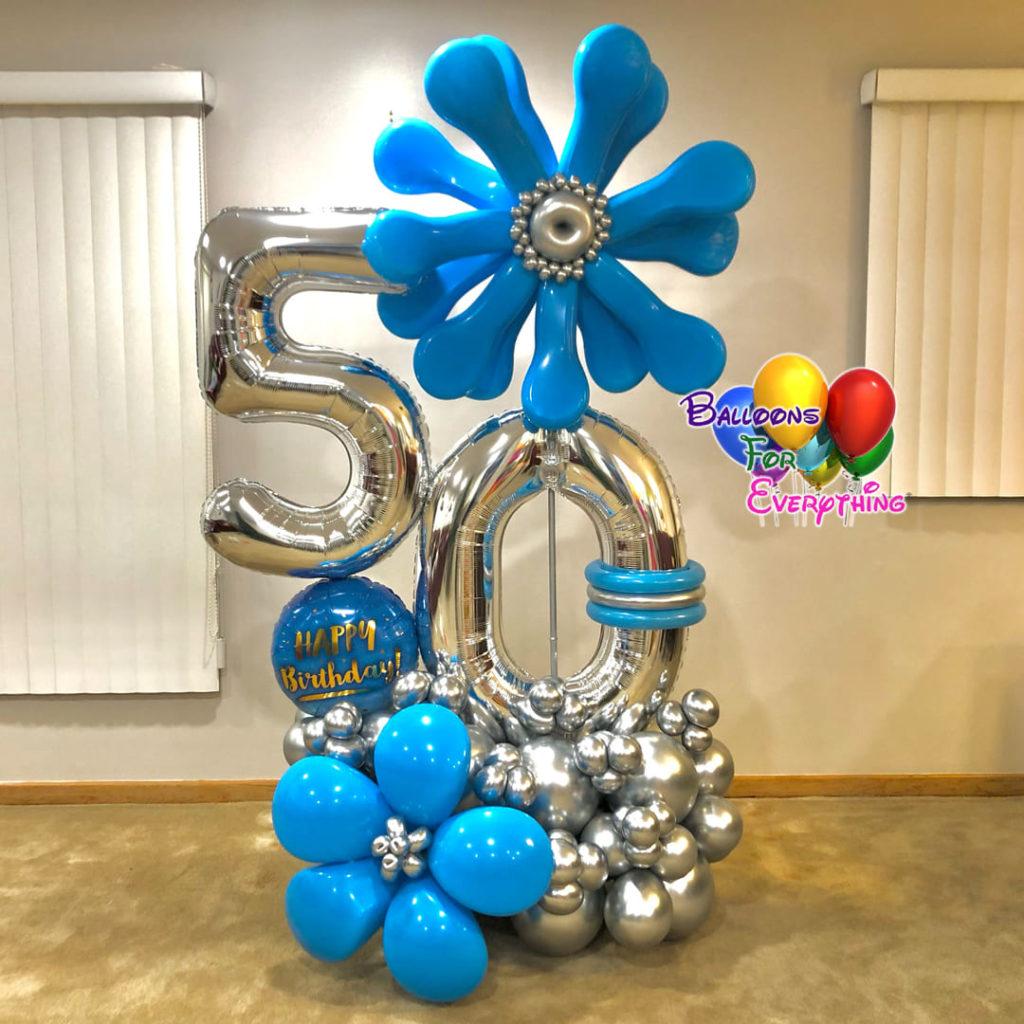 Cute Flower Balloon Bouquet