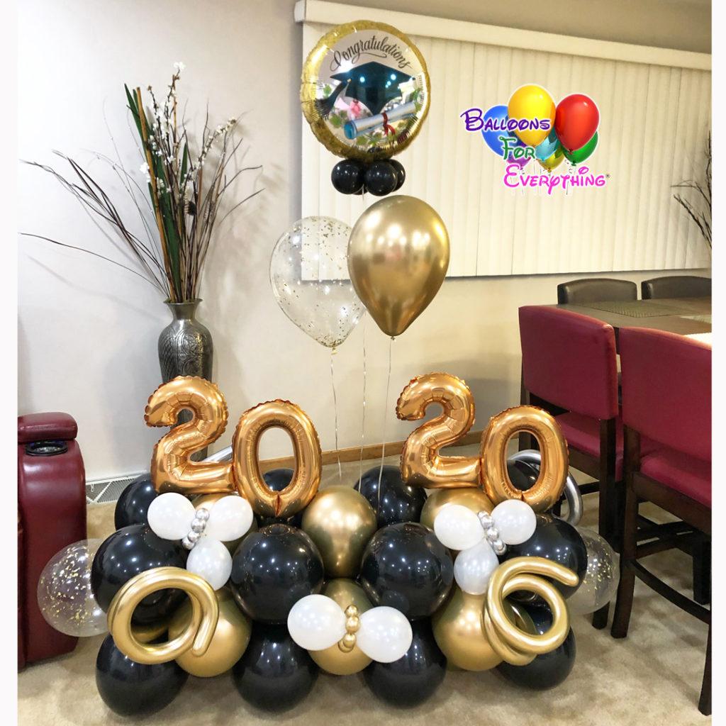 Cute Grad Balloon Bouquet