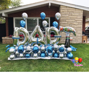 The Big Boss Balloon Bouquet