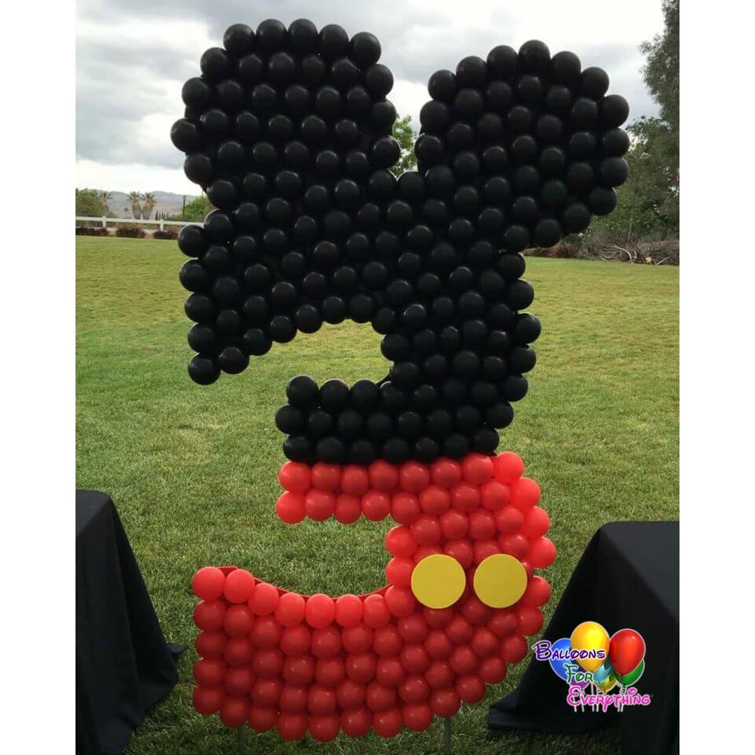 Mickey Overlay Balloon Sculpture