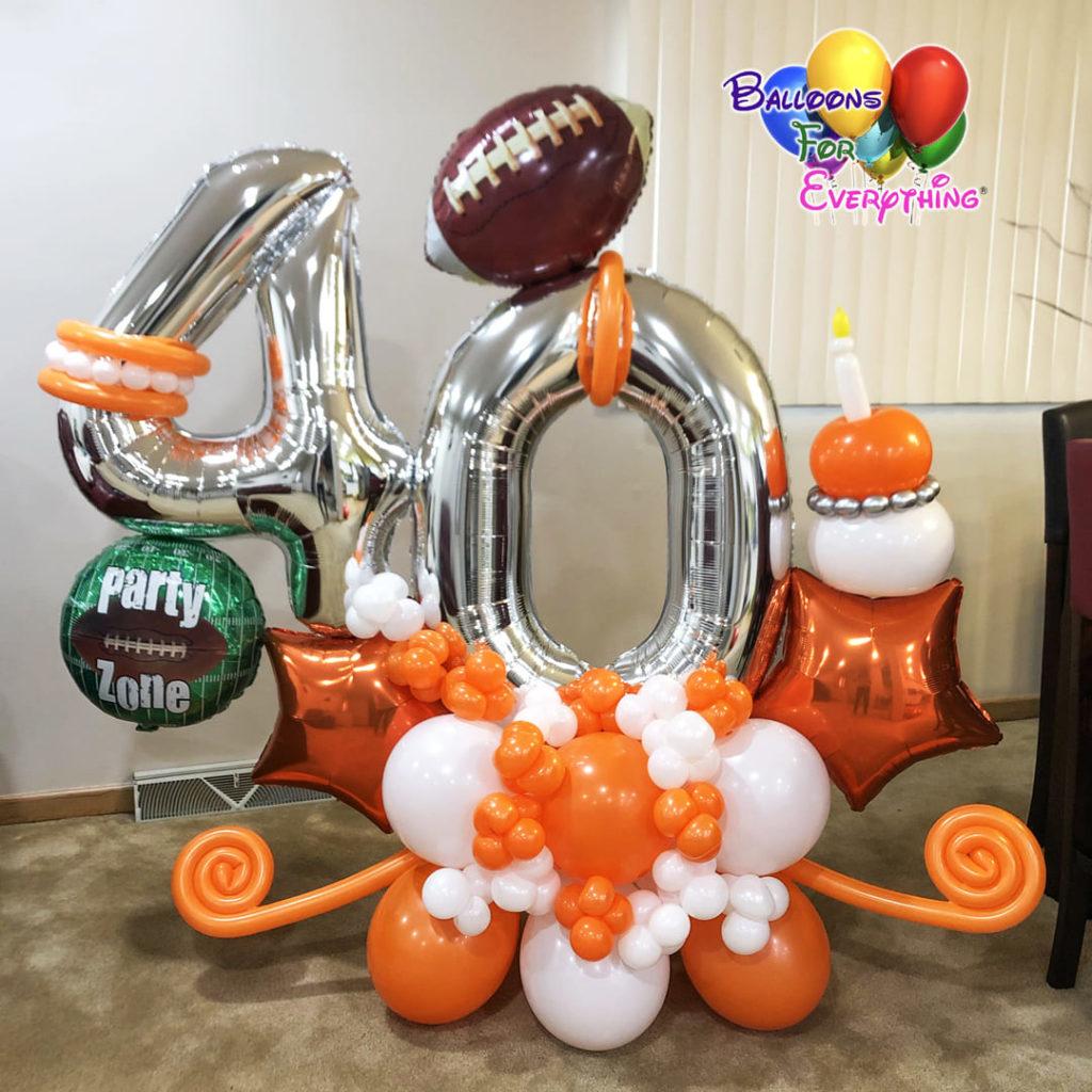 Sports Balloon Bouquet