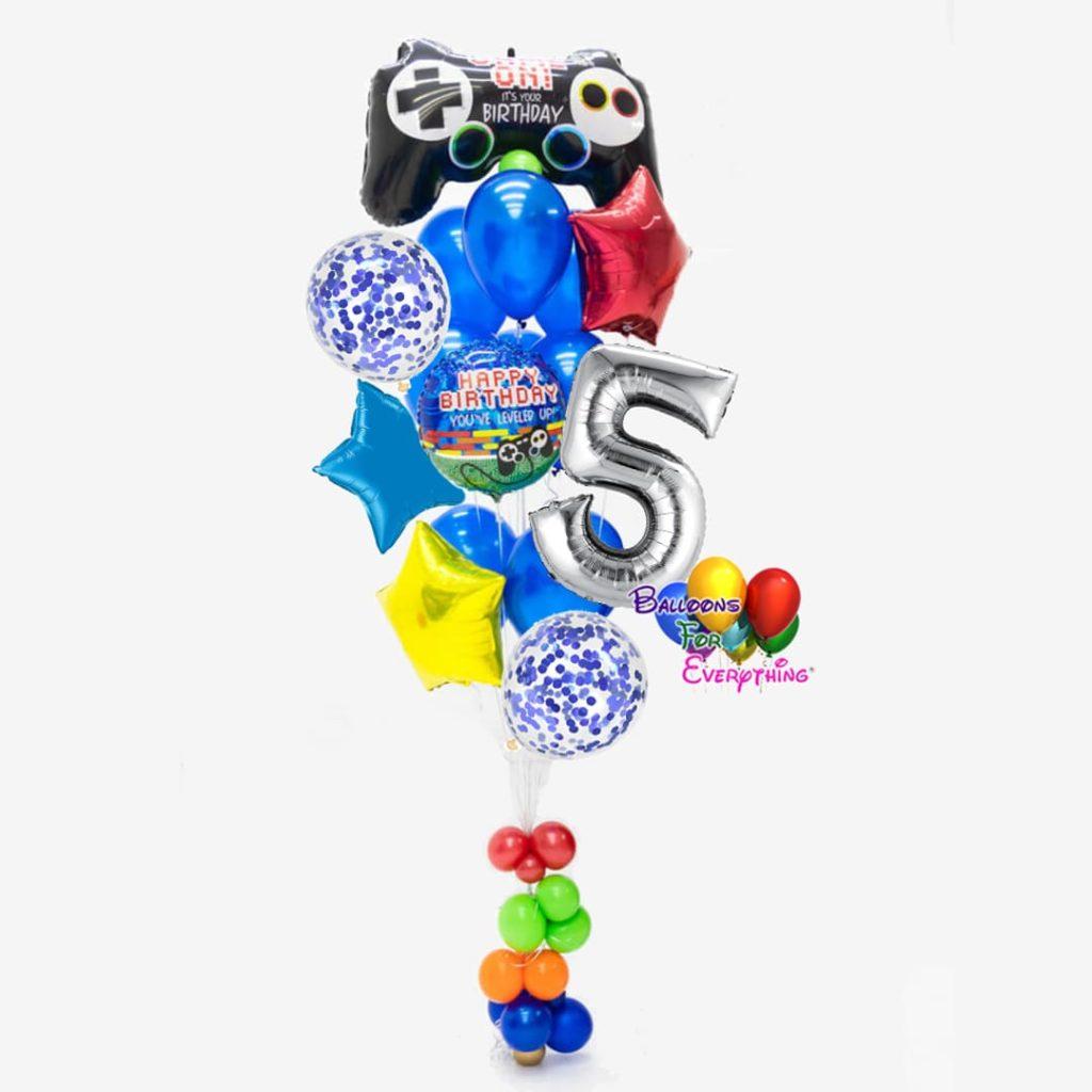 Wow Balloon Bouquet