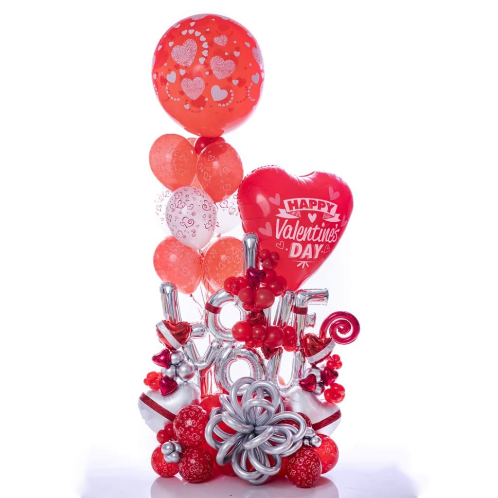 Amour Balloon Bouquet