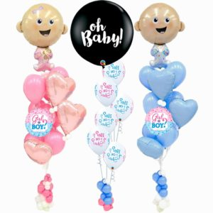 Baby Gender Reveal Popping Balloons