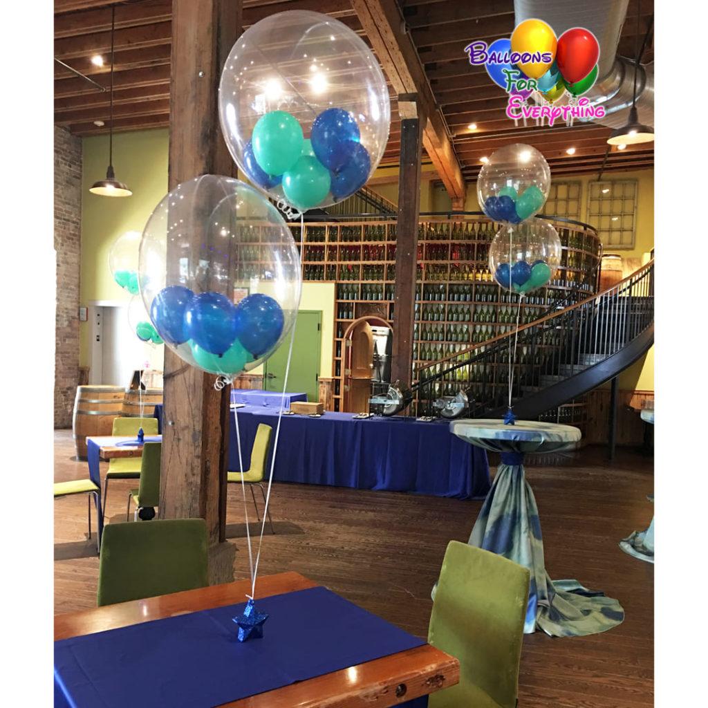 Bubble Balloon Centerpieces