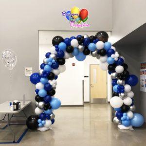 Corporate Organic Balloon Arch