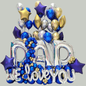Dad Celebration Balloon Bouquet