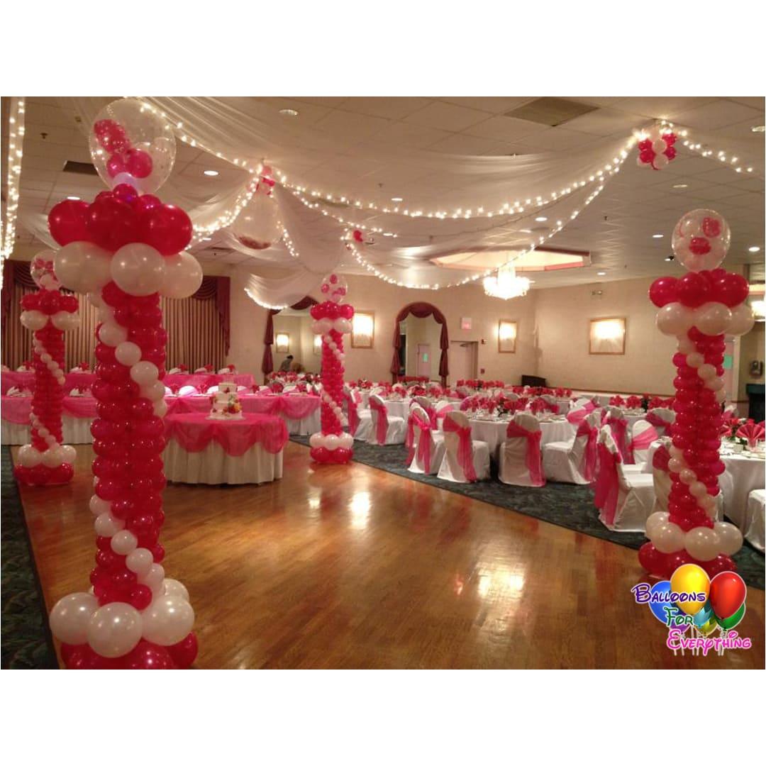 Cotilion Balloon Decorations