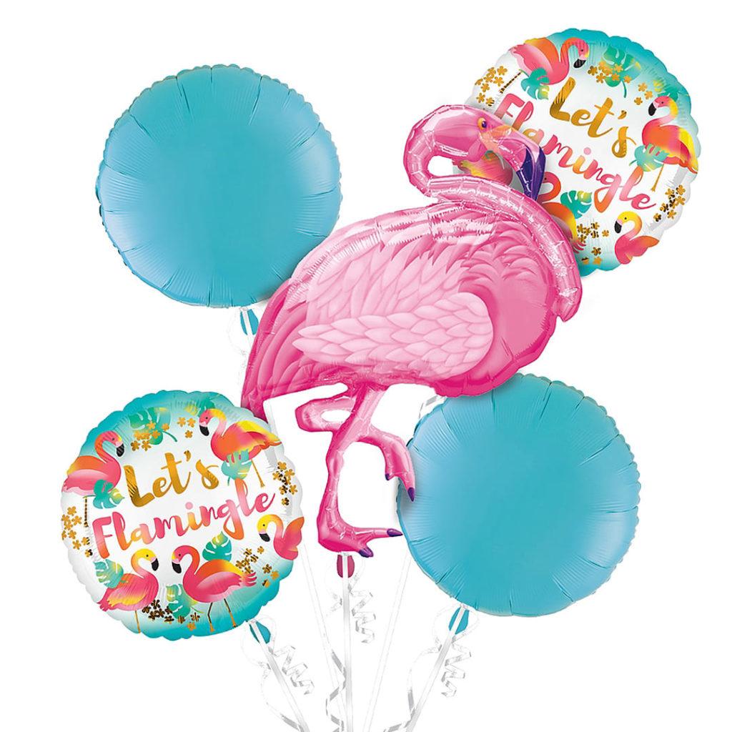 Flamingo Party Balloon Bouquet