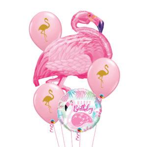 Flamingo Balloon Bouquet