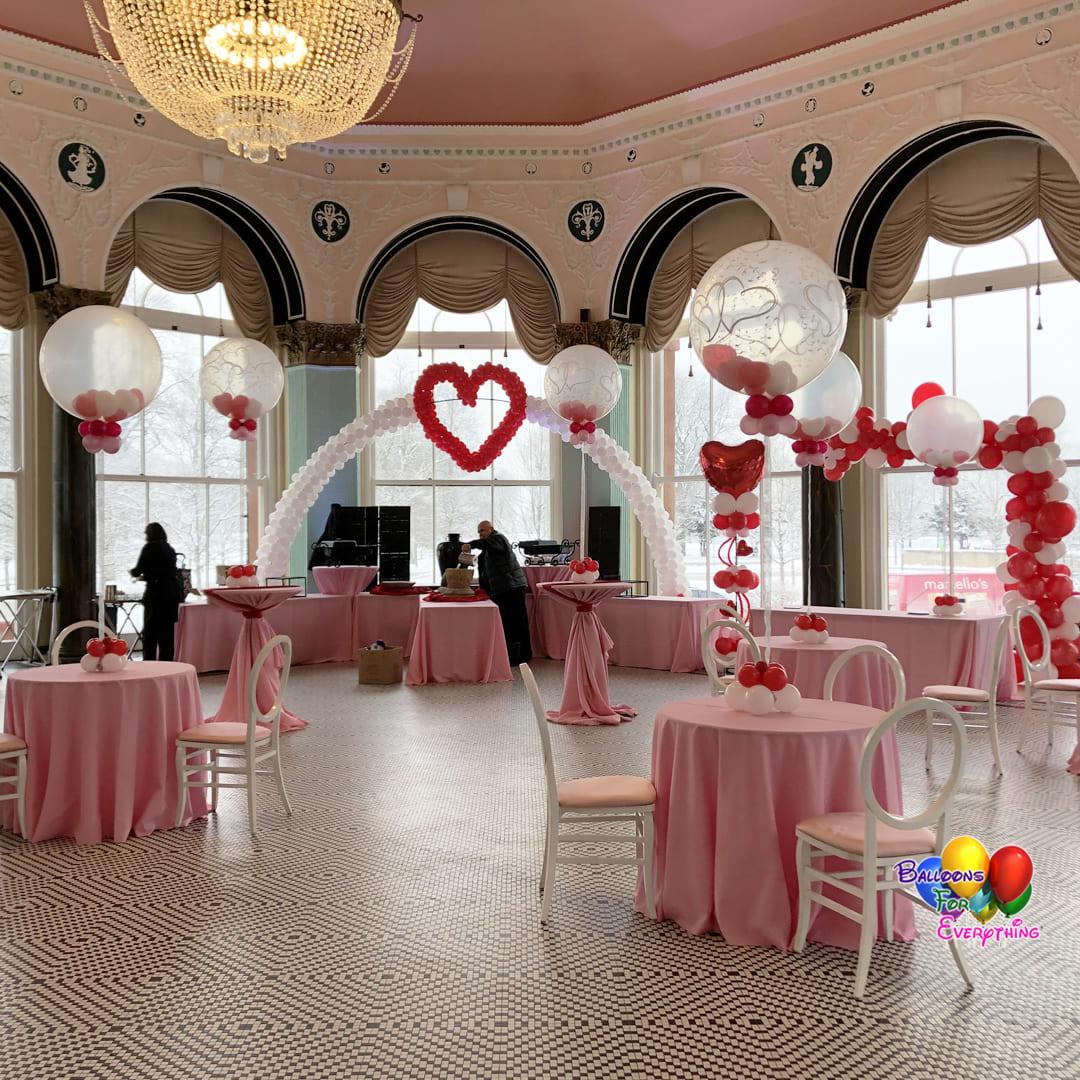 Love Celebration Balloon Decor