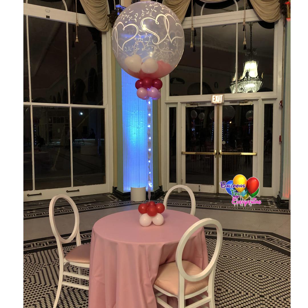 Love Balloon Centerpieces