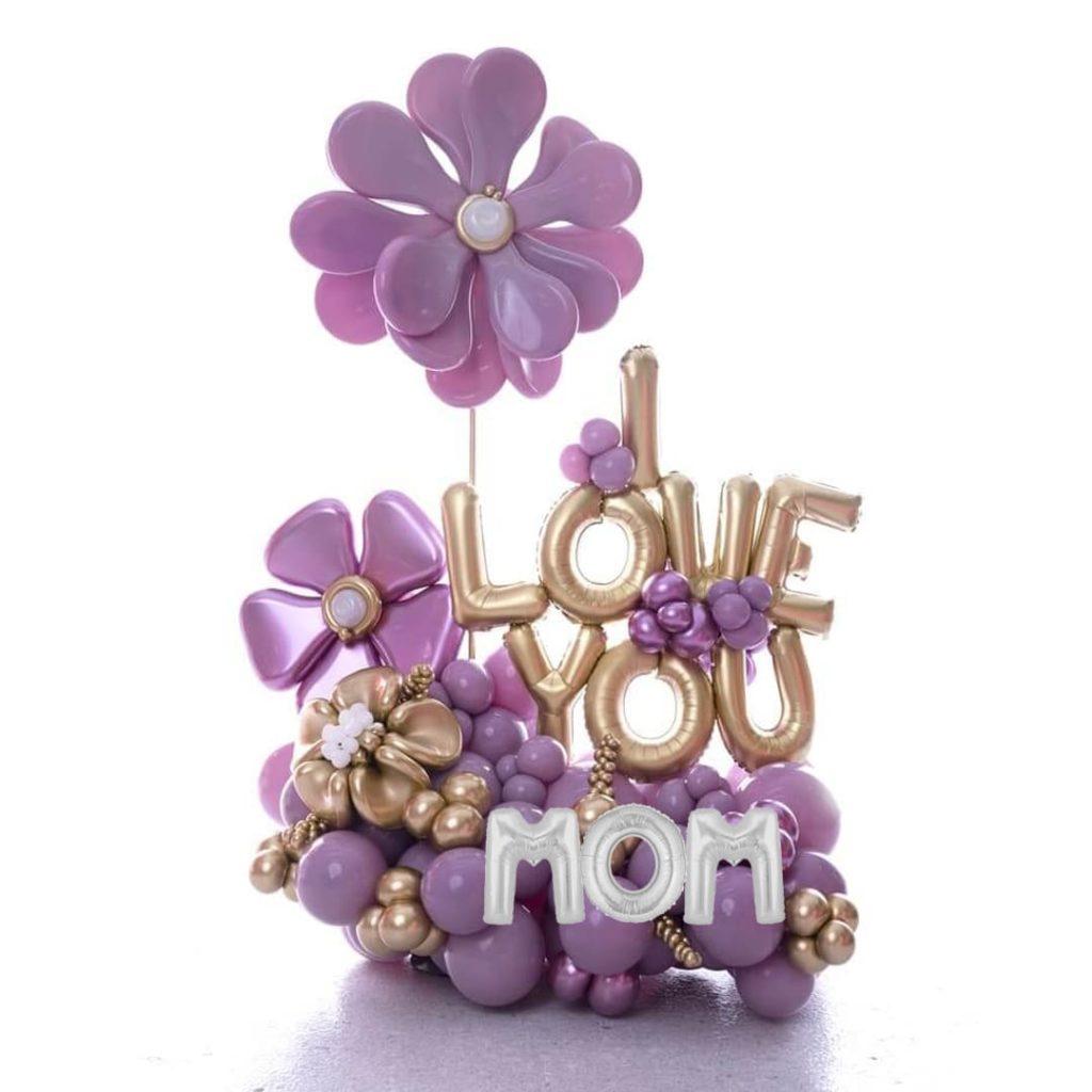 Love Mom Balloon Bouquet