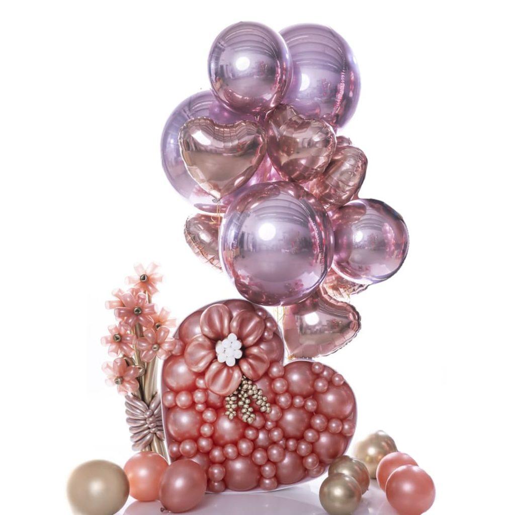 Lovely Heart Balloon Bouquet