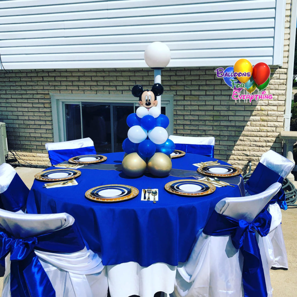 Mickey Balloon Centerpieces