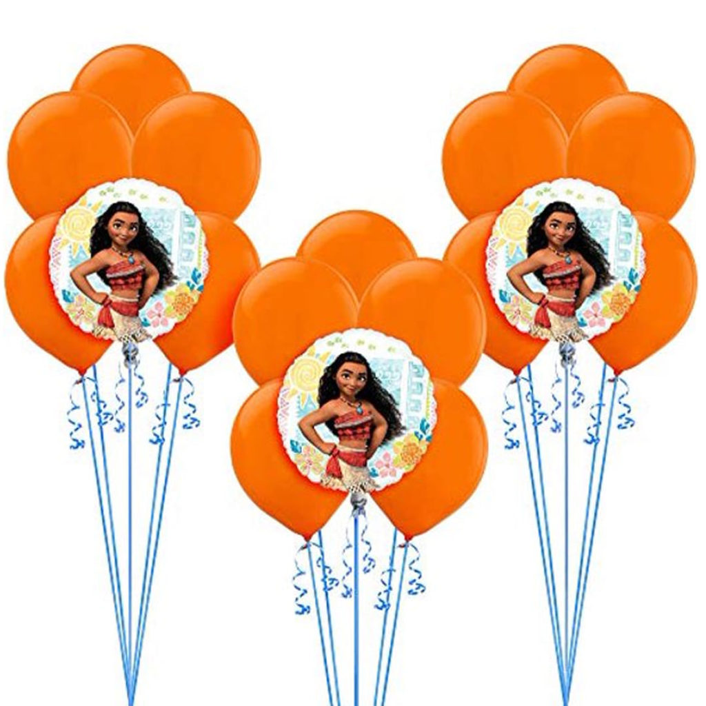 Moana Balloon Bunches