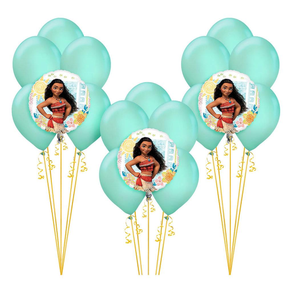Moana Birthday Balloon Bouquet