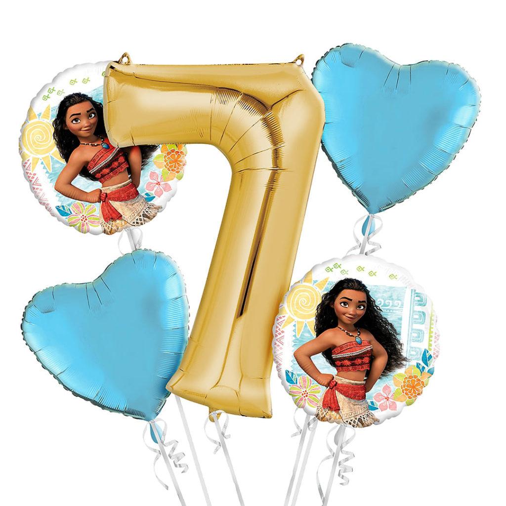 Moana Birthday Party Balloons