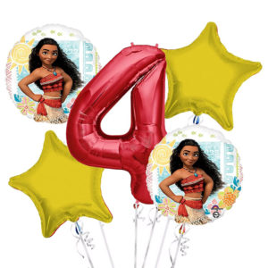 Moana Party Balloons
