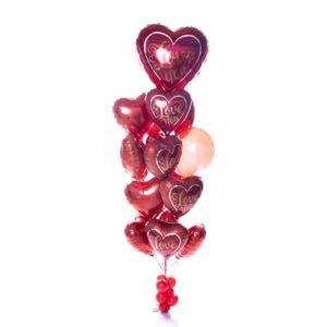 My Heart Balloon Bunches
