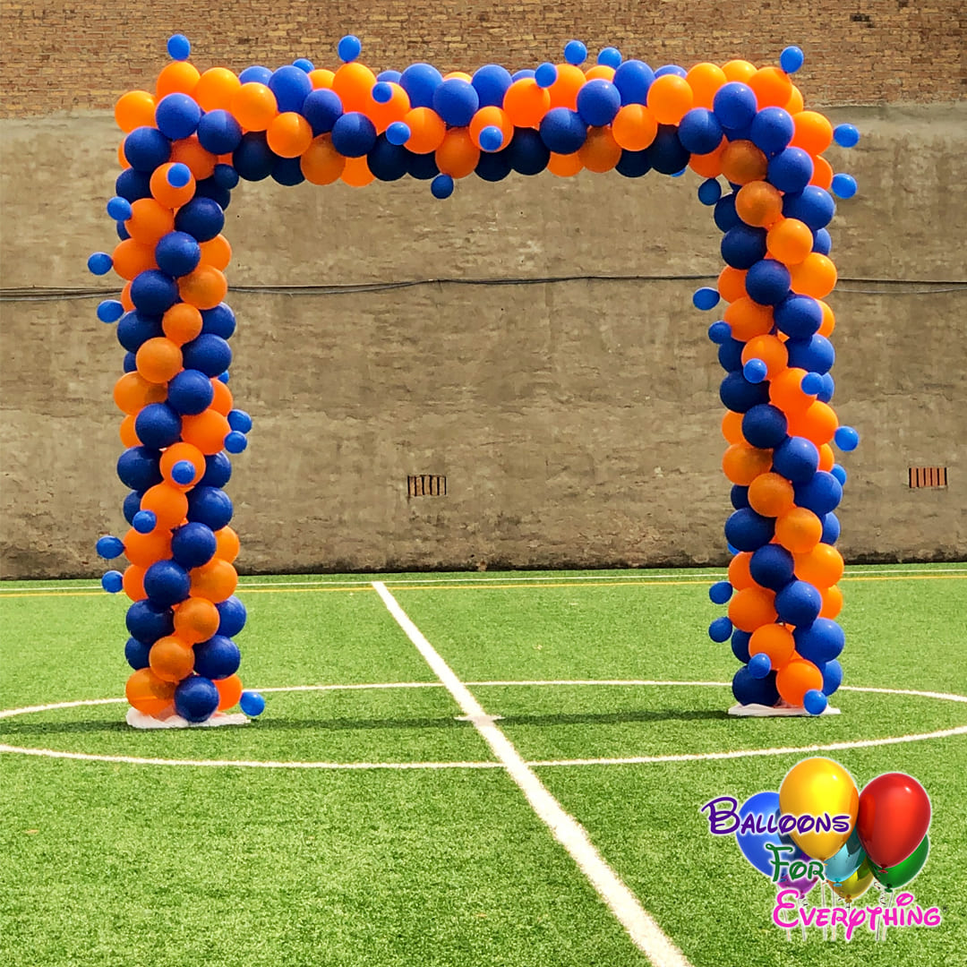 Square Giggle Balloon Arch