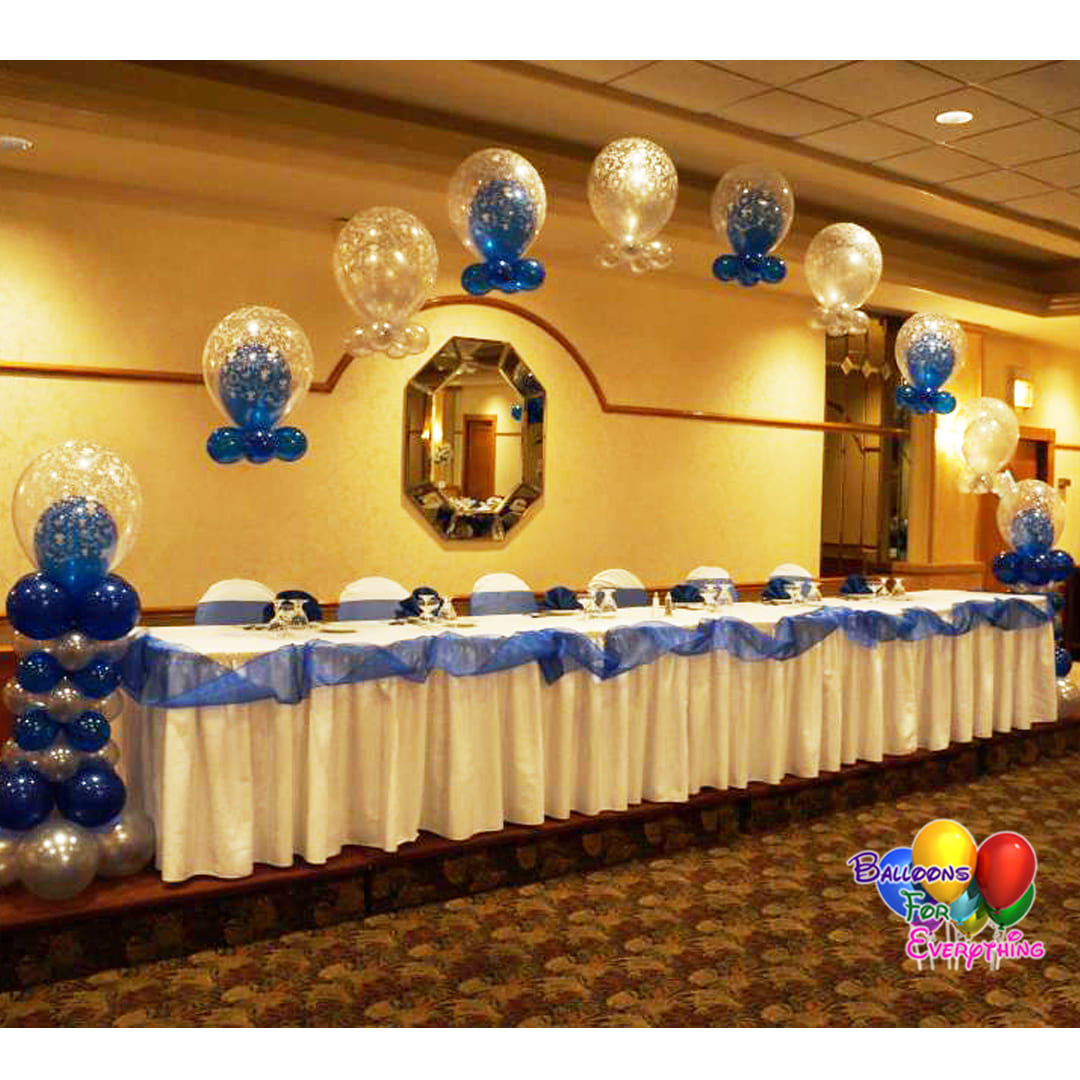 String of Pearl Balloon Arches