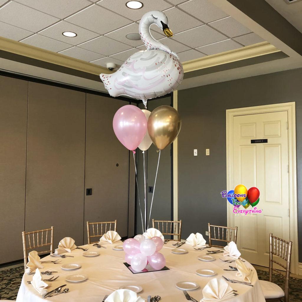 Baby Shower Balloon Centerpieces