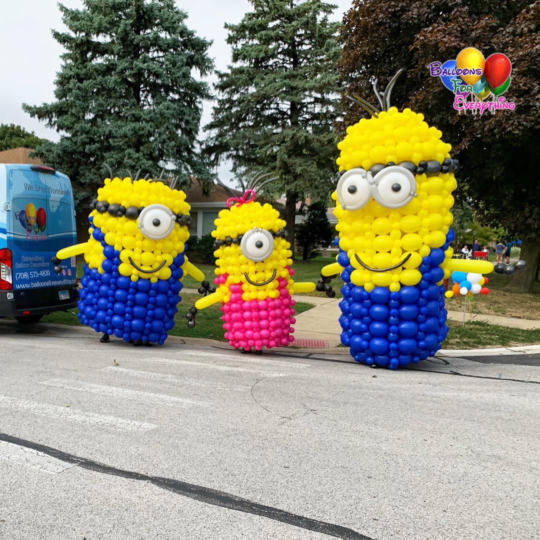 Minions Balloon Sculptures