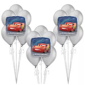 Lightning McQueen Balloon Bunches