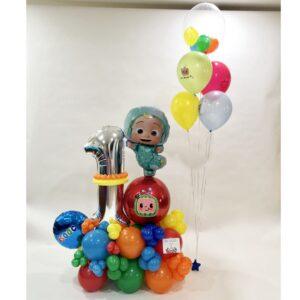 Cocomelon Birthday Balloon Bouquet