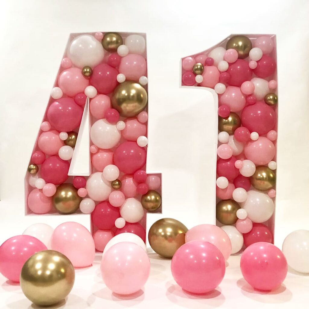 Mosaic Balloon Numbers