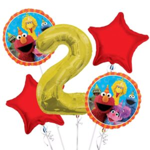 Elmo 2nd Birthday Balloons