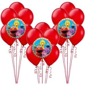 Sesame Street Birthday Balloon Bunches