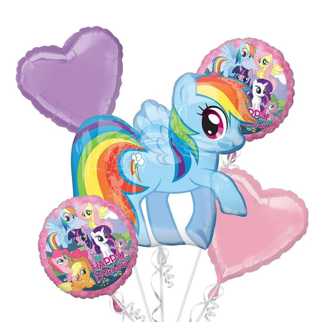 Rainbow Dash Balloon Bouquet