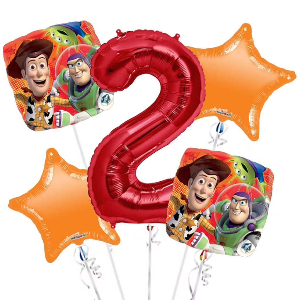 Toy Story Gang Balloon Bouquet