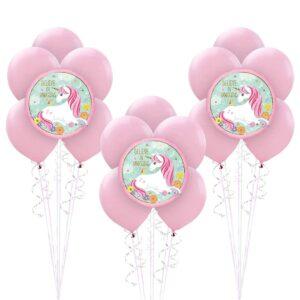 Magical Unicorn Balloon Bunches