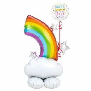 Rainbow Cloud Balloons