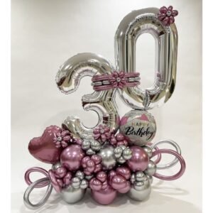 Birthday Balloon Marquee