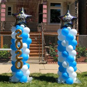 Grad Balloon Columns