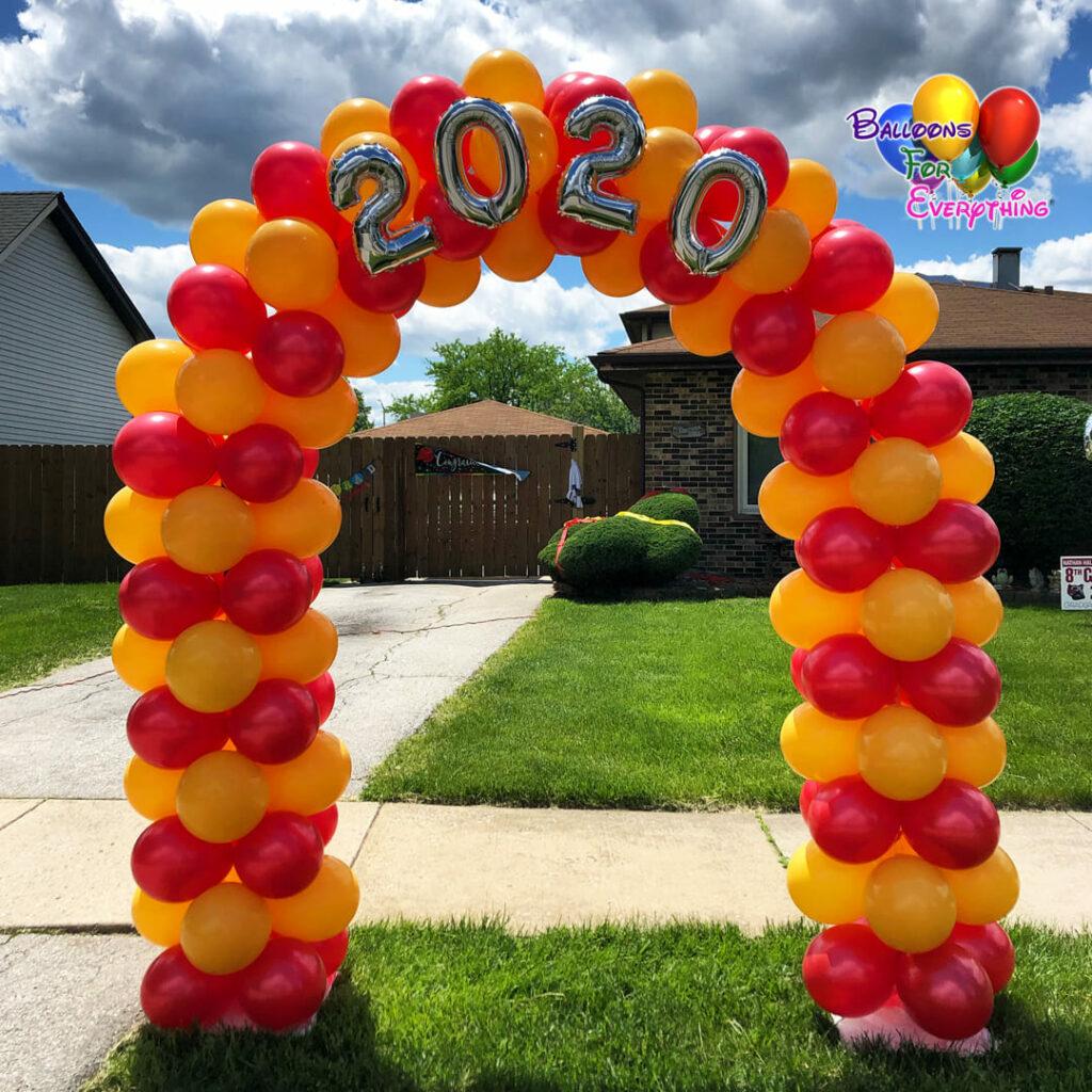 Graduation Balloon Arch