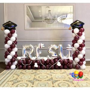 Graduation Balloon Decor