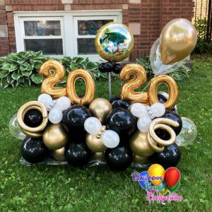 Grad Balloon Yard Marquee